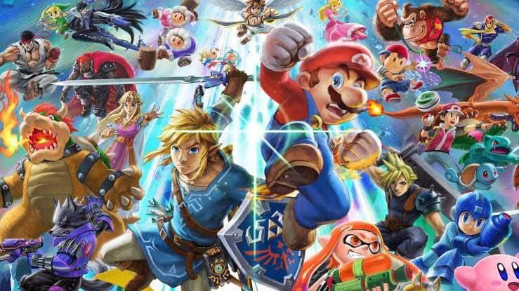 Super Smash Bros. Ultimate vendeu 5 milhões de cópias no mundo inteiro na sua primeira semana