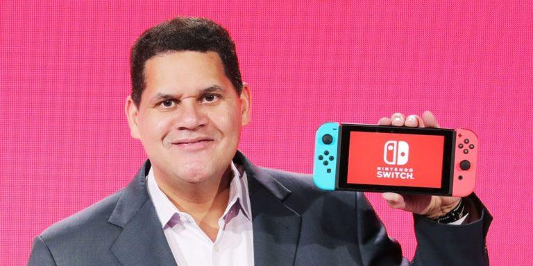 Reggie explica como o Nintendo Switch continuará sendo bem-sucedido a longo prazo