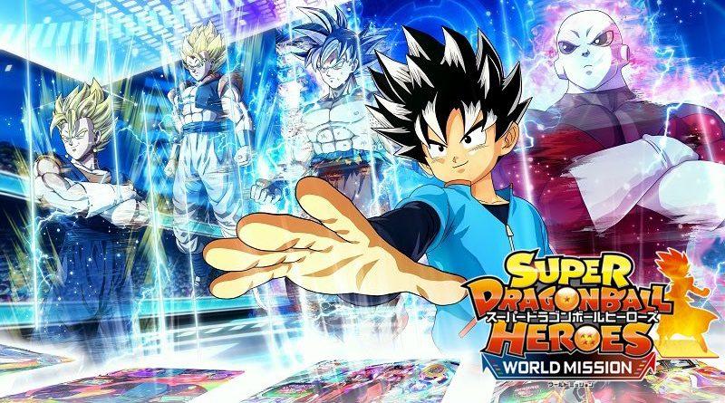[Switch] Super Dragon Ball Heroes: World Mission ganha data de lançamento no Japão