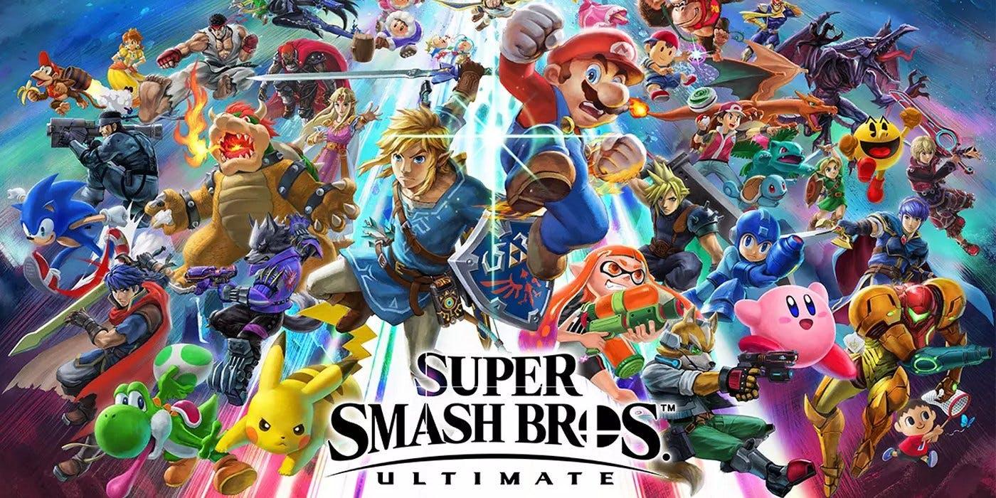 Super Smash Bros. Ultimate vendeu 75% de seu envio inicial no Japão