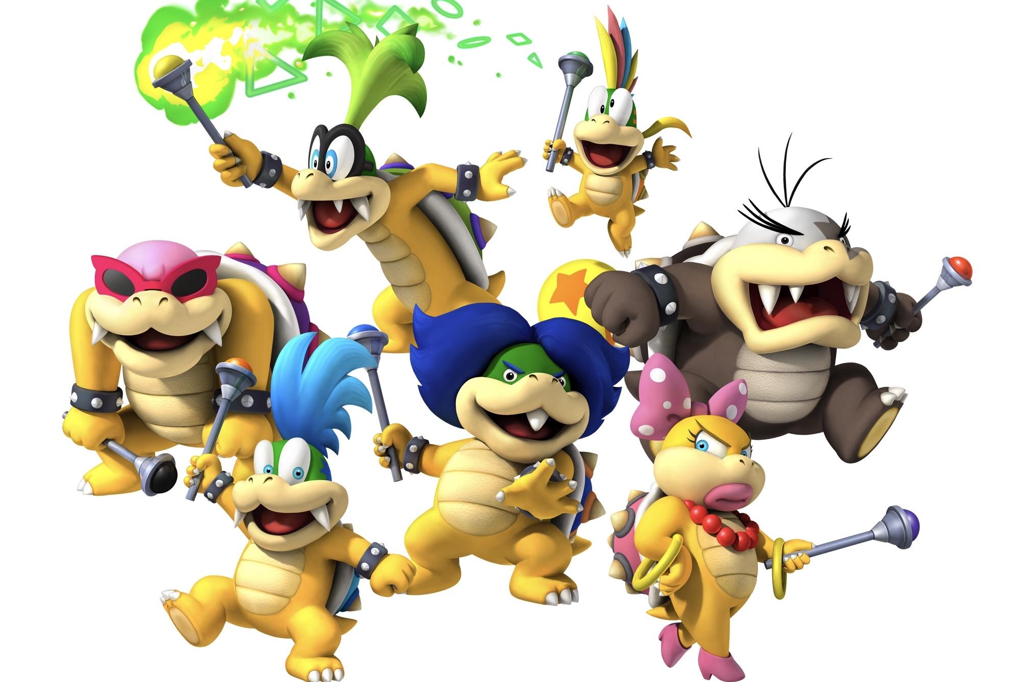Nintendo deixa claro que os Koopalings NÃO são filhos do Bowser; Bowser Jr. sim