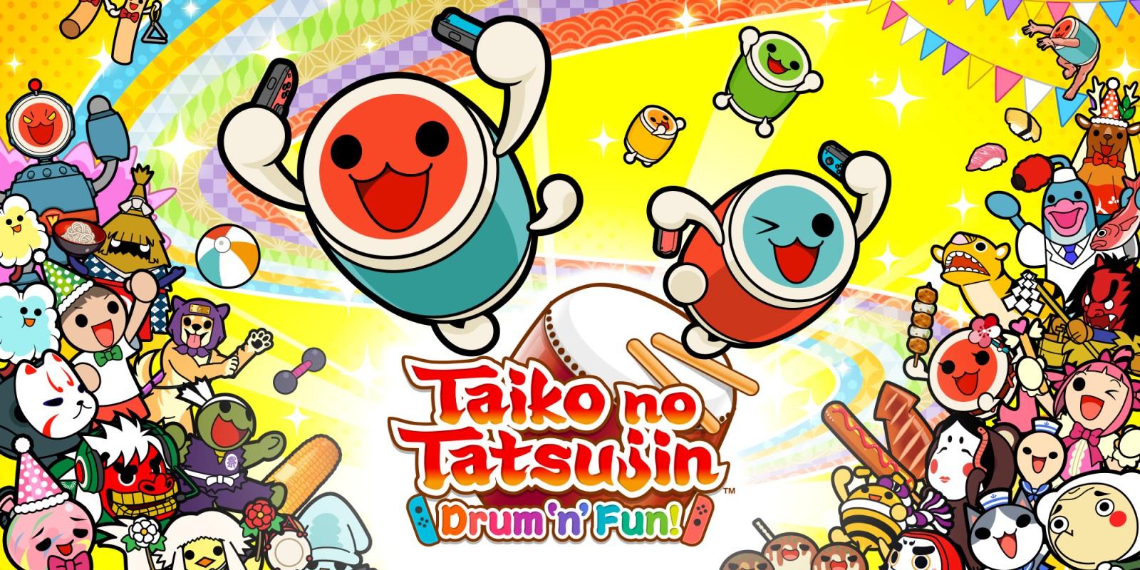 [Switch] Taiko no Tatsujin: Drum 'n' Fun! ganhará DLC com músicas de Pokémon