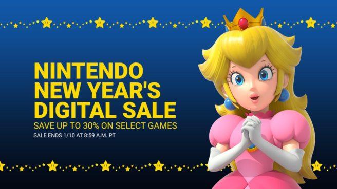 Nintendo New Year's Sale – ARMS, Octopath Traveler, Splatoon 2 e outros jogos com até 75% de desconto na eShop