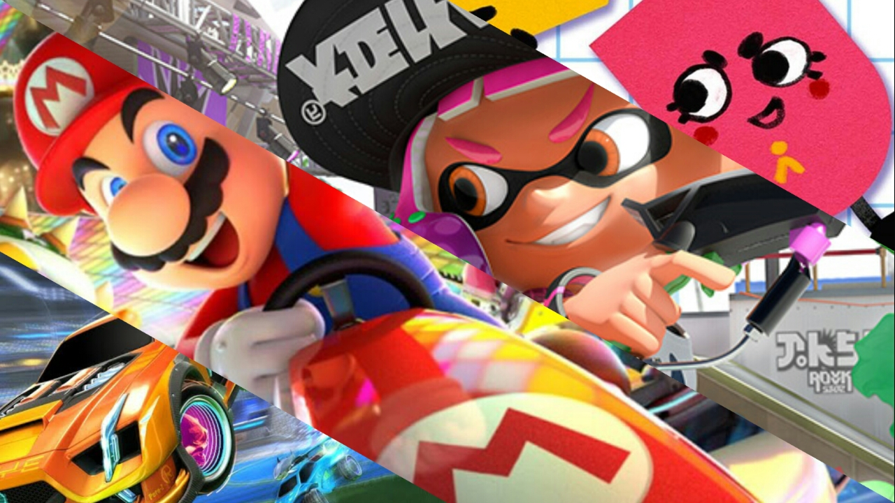 Happy New Year Sale – Rocket League, Splatoon 2, Mario Kart 8 Deluxe e vários outros jogos em promoção na eShop européia