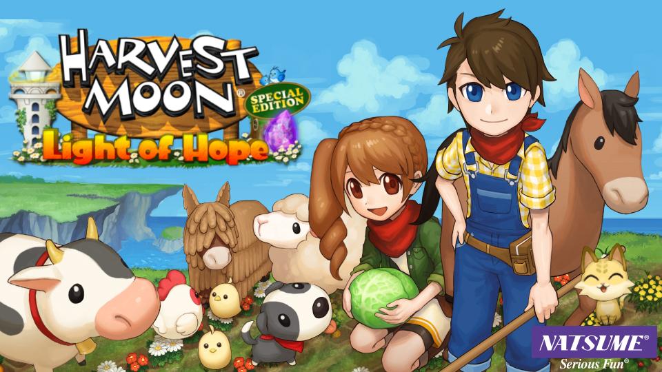 CEO da Natsume diz que Harvest Moon: Light of Hope bateu novo recorde de vendas, novos títulos serão anunciados em breve