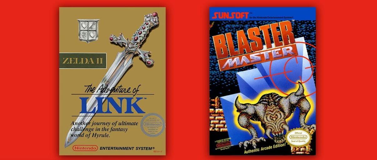 Zelda II – The Adventure of Link e Blaster Master  chegam na próxima semana para os assinantes do Nintendo Switch Online