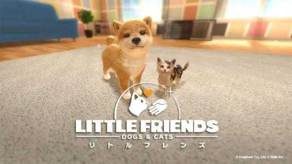 [Switch] Little Friends: Dogs & Cats receberá idioma inglês