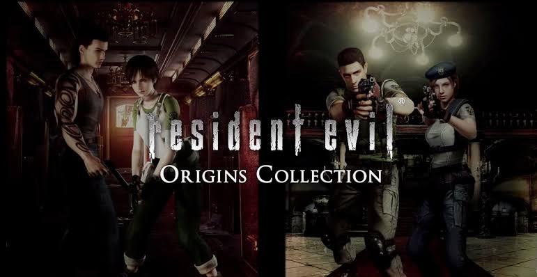 [Switch] Resident Evil HD Remaster e Resident Evil 4 serão apenas digitais no Japão; Arte da capa de Origins Collection
