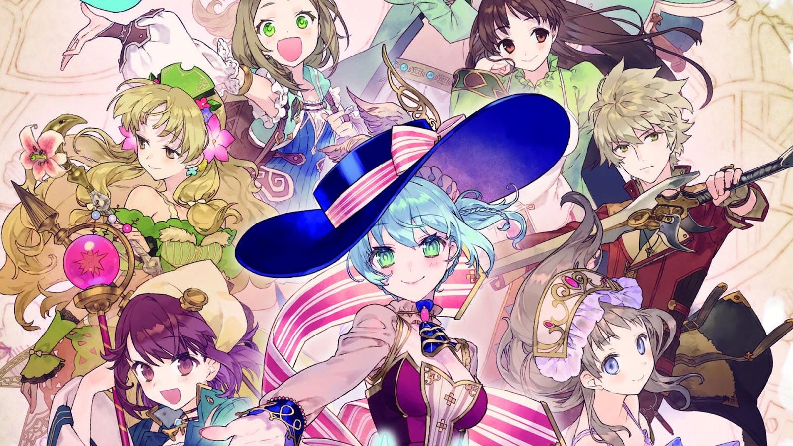 Japão: Porcentagem de vendas para Nelke & the Legendary Alchemists, Fate/Extella: Link e Dragon Marked for Death