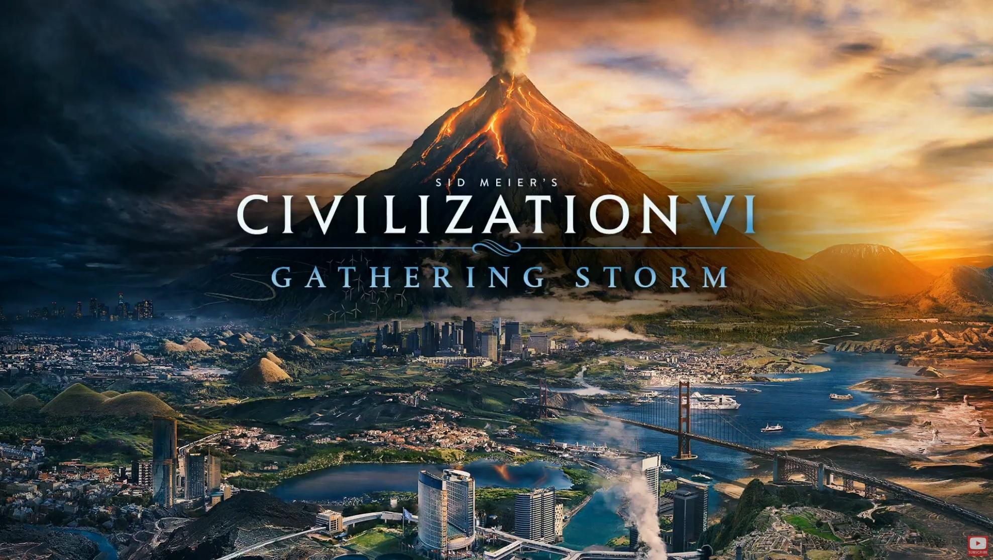 Expansões Rise and Fall e Gathering Storm de Civilization VI estão vindo para o Nintendo Switch