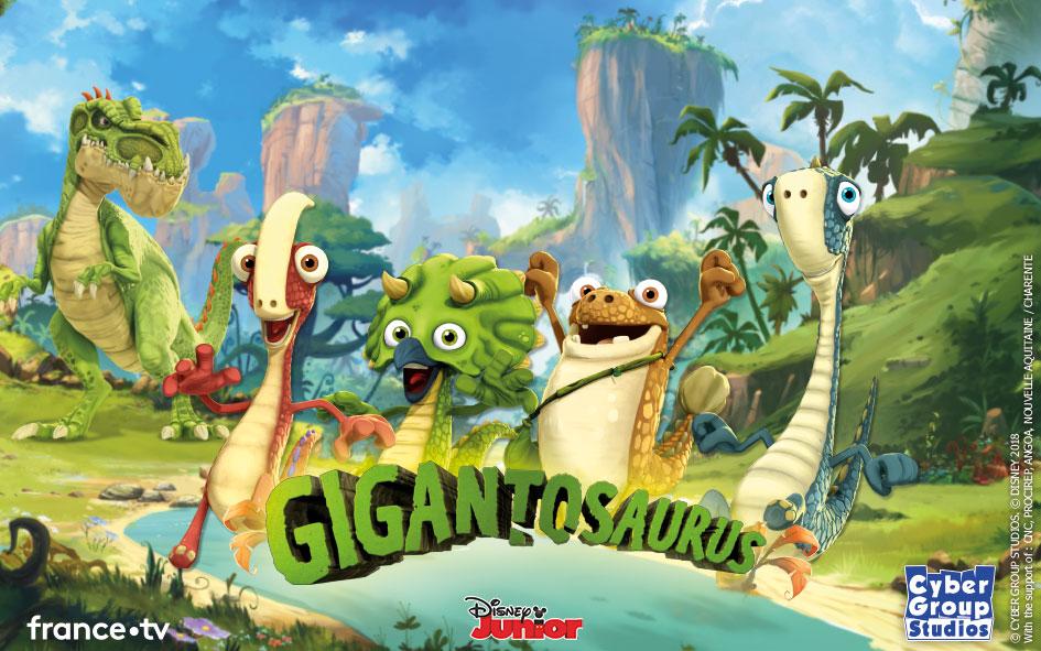 Disney Gigantosaurus ganhará adaptação em videogame pela Outright Games, jogo será lançado para o Nintendo Switch