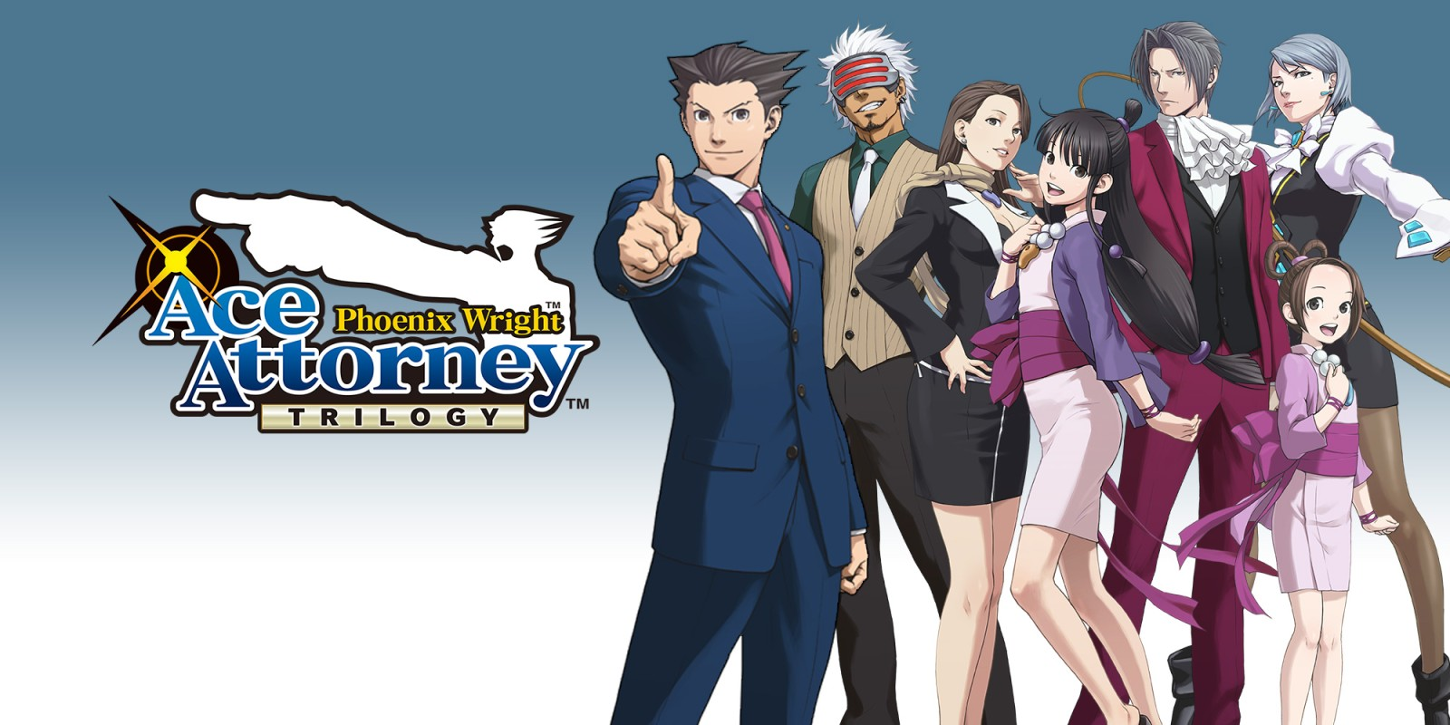 [Switch] Versão ocidental de Phoenix Wright: Ace Attorney Trilogy terá novas informações na próxima semana