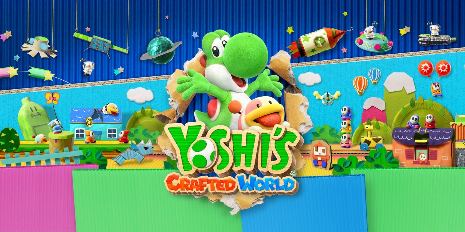 Yoshi's Crafted World é o primeiro jogo da Nintendo desenvolvido na Unreal Engine 4 e com resolução dinâmica