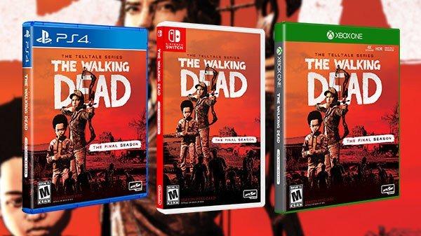 Versão física de The Walking Dead: The Telltale Series – The Final Season chega no próximo mês junto com o último episódio do jogo