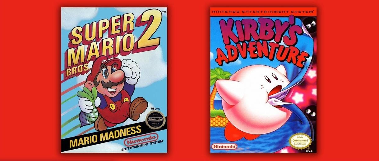 Kirby's Adventure e Super Mario Bros. 2 chegam na próxima semana para os assinantes do Nintendo Switch Online