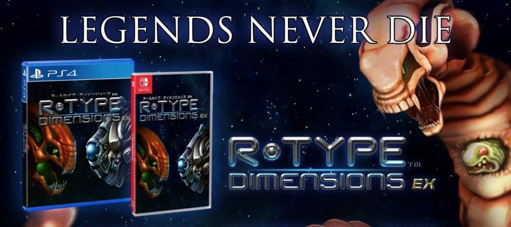 [Switch] R-Type Dimensions R EX terá edição física pela Strictly Limited Games