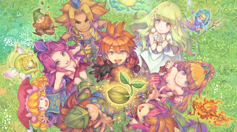 Square Enix registra as marcas Secret of Mana, Final Fantasy Adventure e Mystic Quest na Europa e EUA