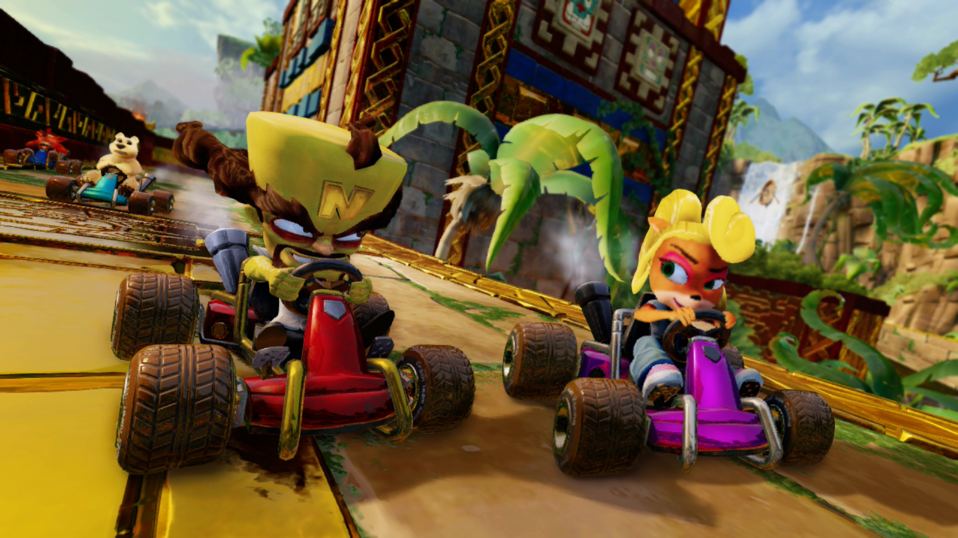 [Switch] Confira screenshots de Crash Team Racing Nitro-Fueled