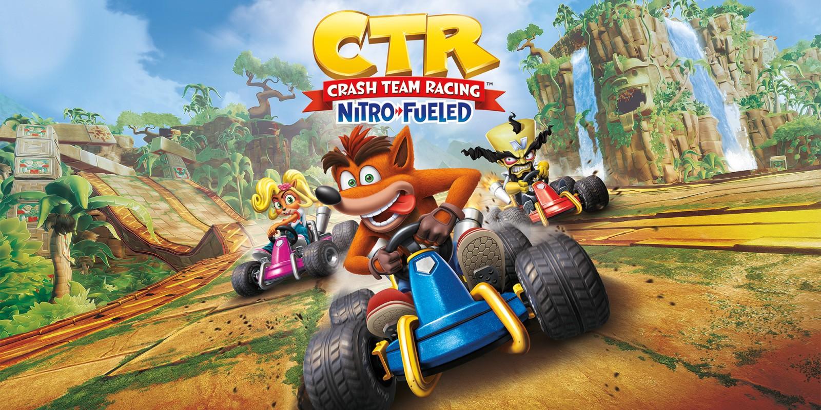 Vídeo compara versões de Switch e PS4 de Crash Team Racing Nitro-Fueled; Confira