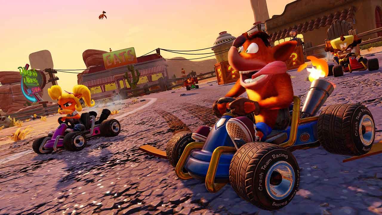 Versão para Switch de Crash Team Racing Nitro-Fueled tem data de lançamento definida; Pré-vendas abertas