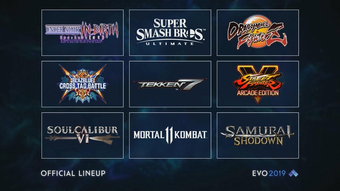 Evo 2019: Super Smash Bros. Ultimate e Mortal Kombat 11 estão confirmados, Super Smash Bros. Melee fora do evento este ano