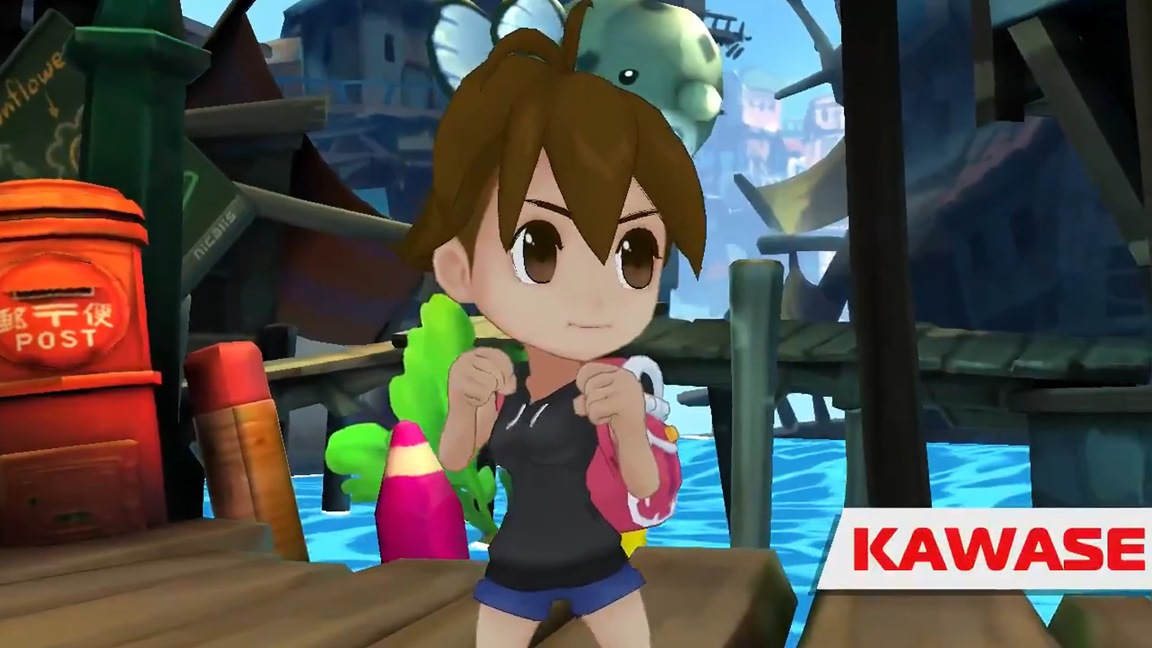 [Switch] Umihara Kawase confirmada como personagem jogável em Crystal Crisis