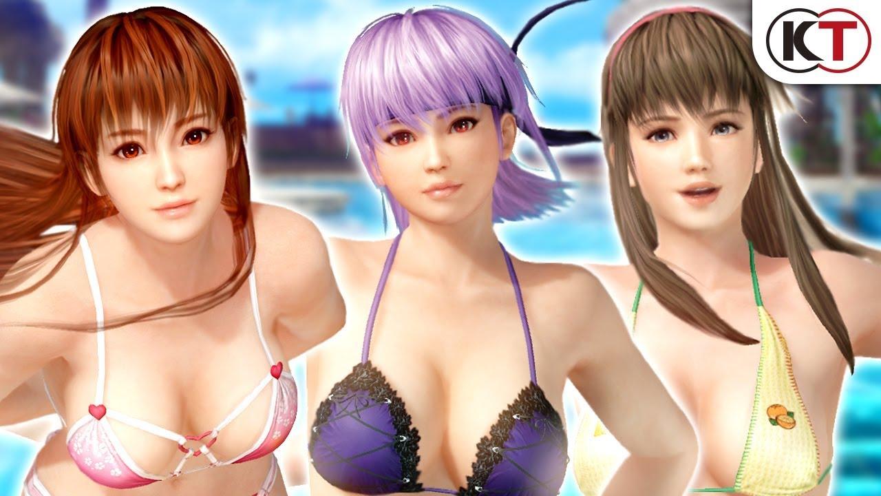 Dead or Alive Xtreme 3: Scarlet – Novo trailer apresenta as personagens Kasumi, Ayane e Hitomi