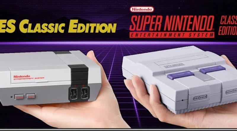 Vendas do NES e SNES Classic Edition estão prestes a ultrapassar as vendas totais do Wii U