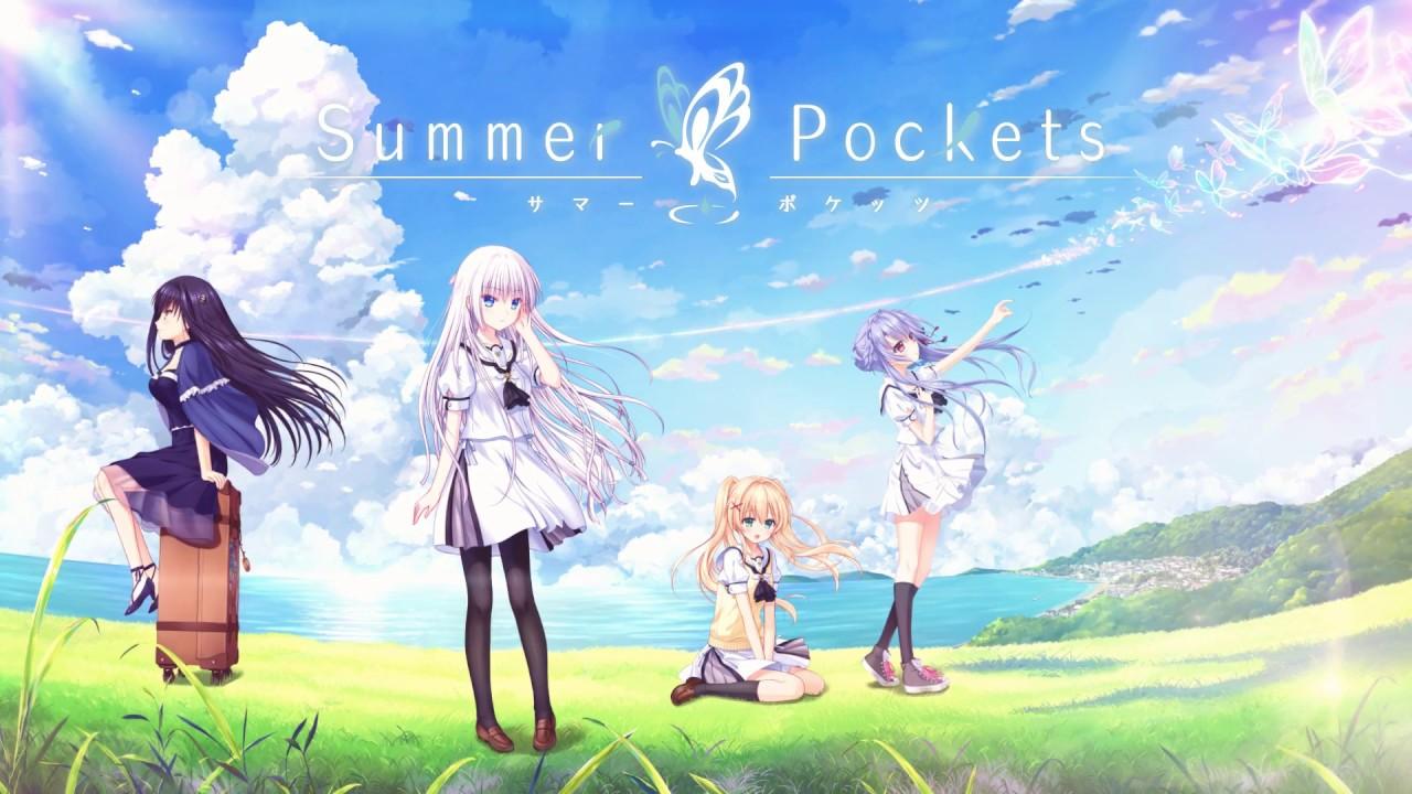 Visual novel Summer Pockets chega ao Nintendo Switch em 20 de junho no Japão