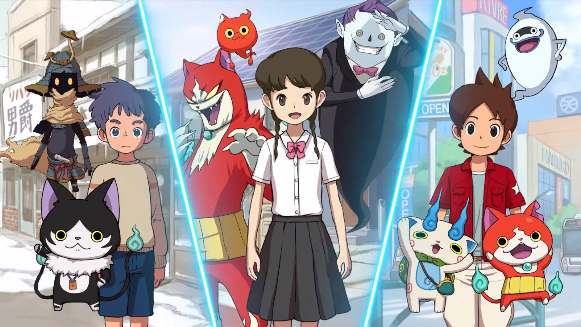Japão: Porcentagem de vendas de lançamento – Yo-Kai Watch 4, Summer Pockets
