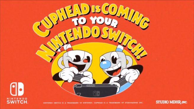 [Atualizado] Cuphead é anunciado para o Nintendo Switch; Data de lançamento e trailer