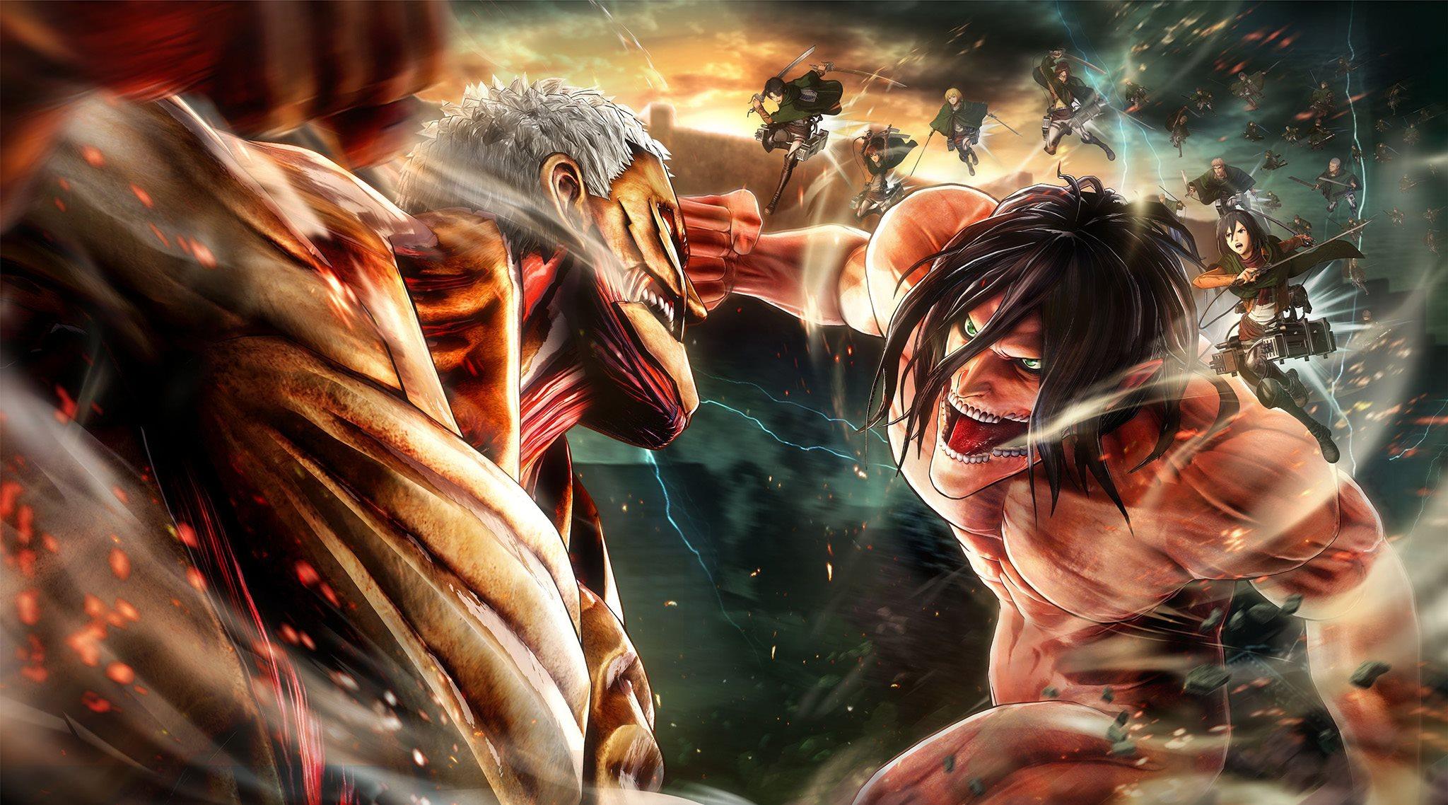 [Switch] Attack on Titan 2: Final Battle é classificado em Taiwan junto com uma atualização para o Attack on Titan 2 original