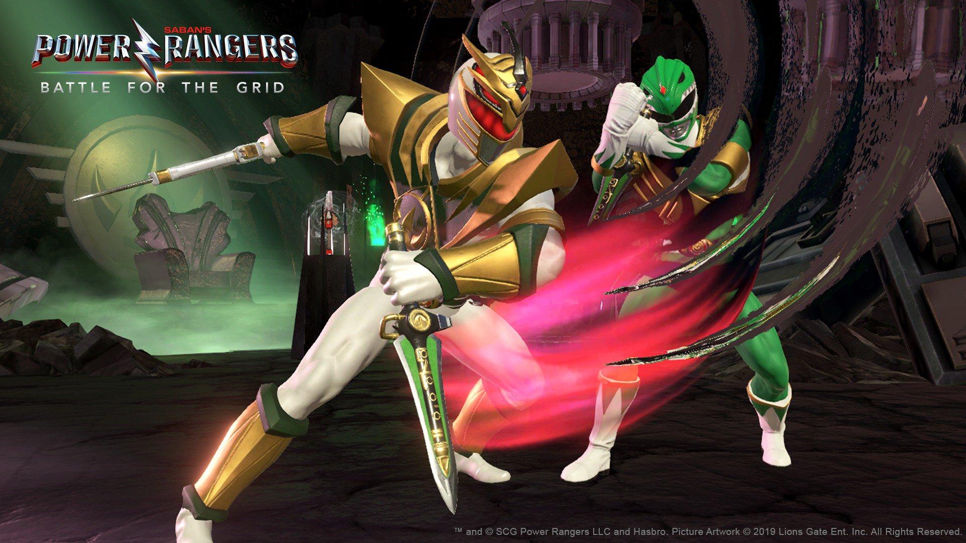 Power Rangers: Battle for the Grid chega ao Nintendo Switch nesta semana