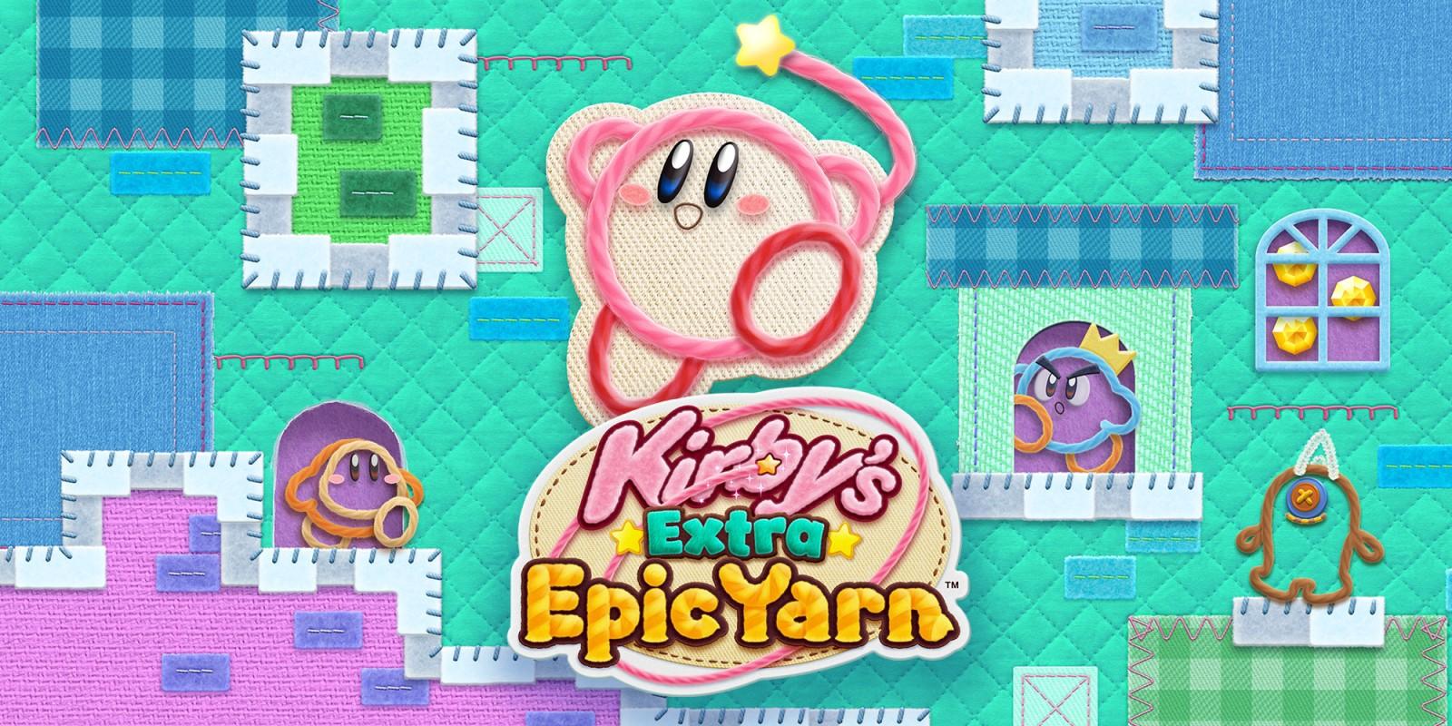[Switch/3DS] Jogos em formato físico da semana – R.B.I. Baseball 19, Kirby's Extra Epic Yarn
