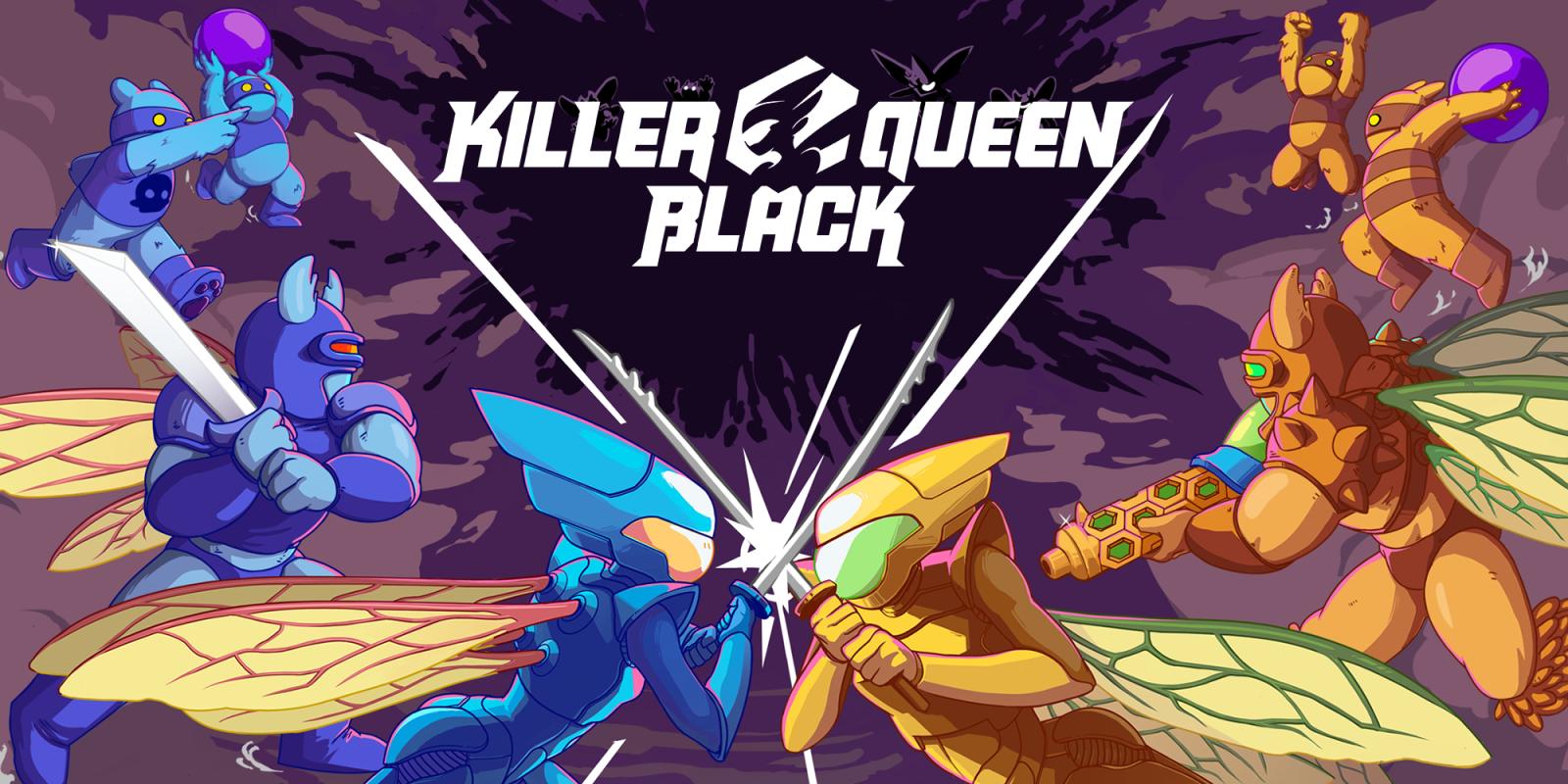 [Switch] Versão física de Killer Queen Black será publicada pela Nighthawk Interactive; Preço e arte de capa