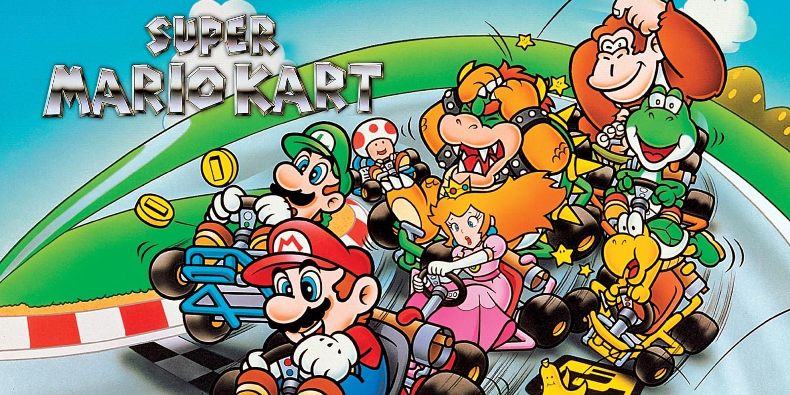 Super Mario Kart e Super Smash Bros. Melee são os finalistas para o World Video Game Hall of Fame 2019