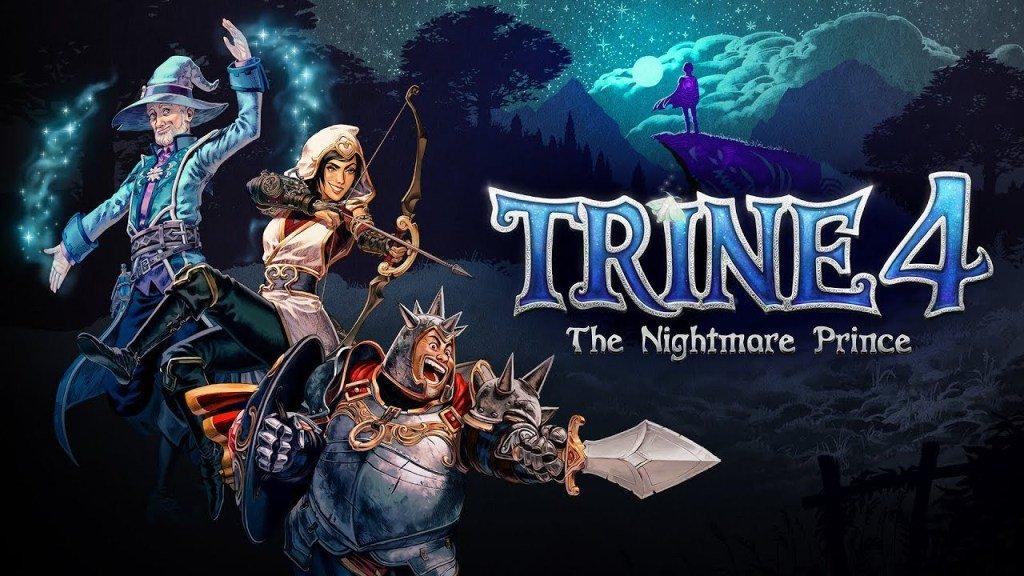 Trine 4: The Nightmare Prince é oficialmente anunciado para o Nintendo Switch; Trailer e arte de capa
