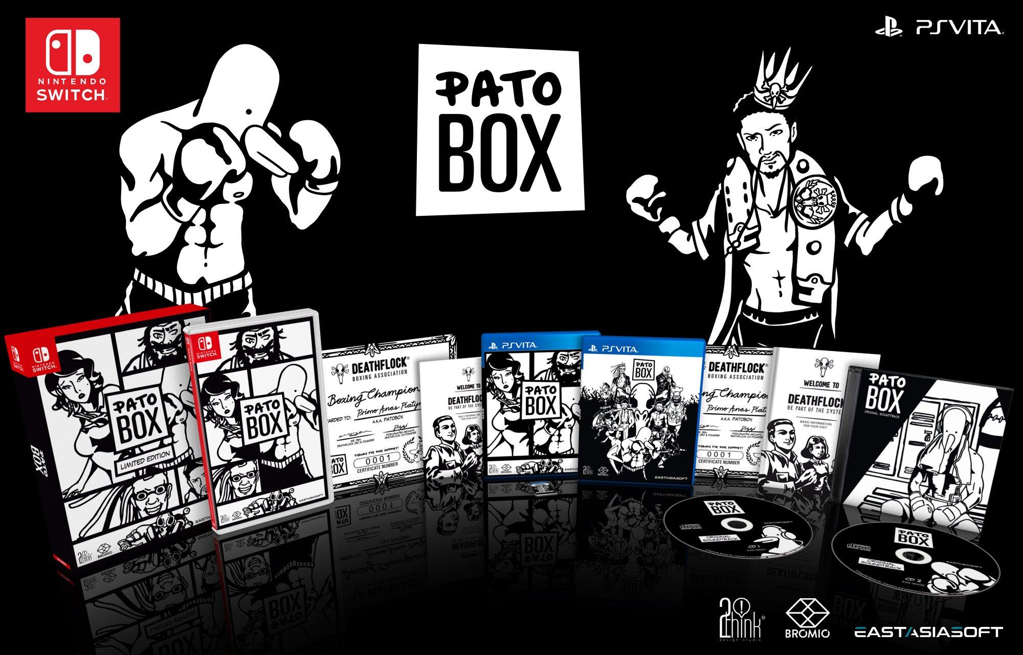 [Switch] Pato Box está ganhando uma edição física pela eastasiasoft