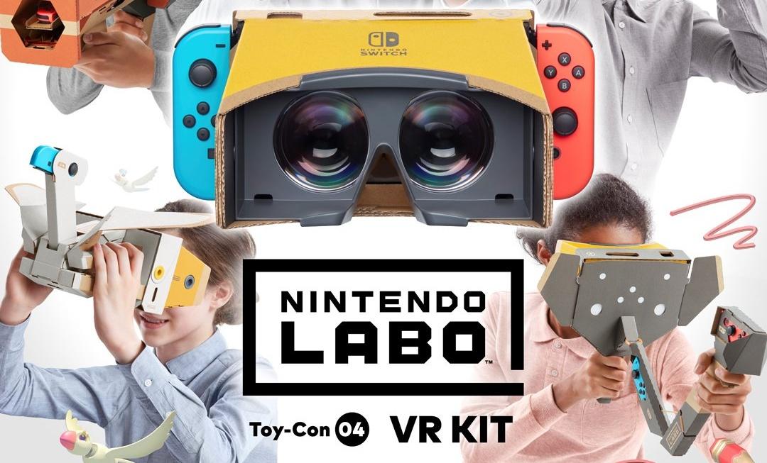 Nintendo anuncia Nintendo Labo: Toy-Con 04 – VR Kit para o Nintendo Switch