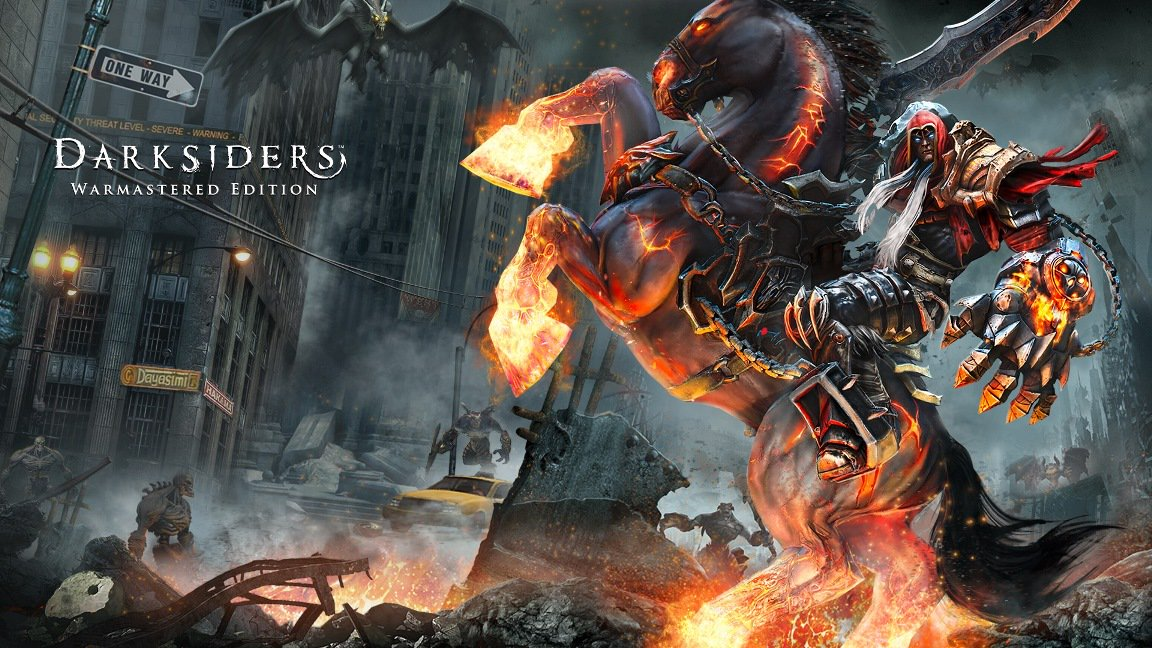 [Switch] Darksiders: Warmastered Edition permite escolher entre os modos High Quality e High Performance