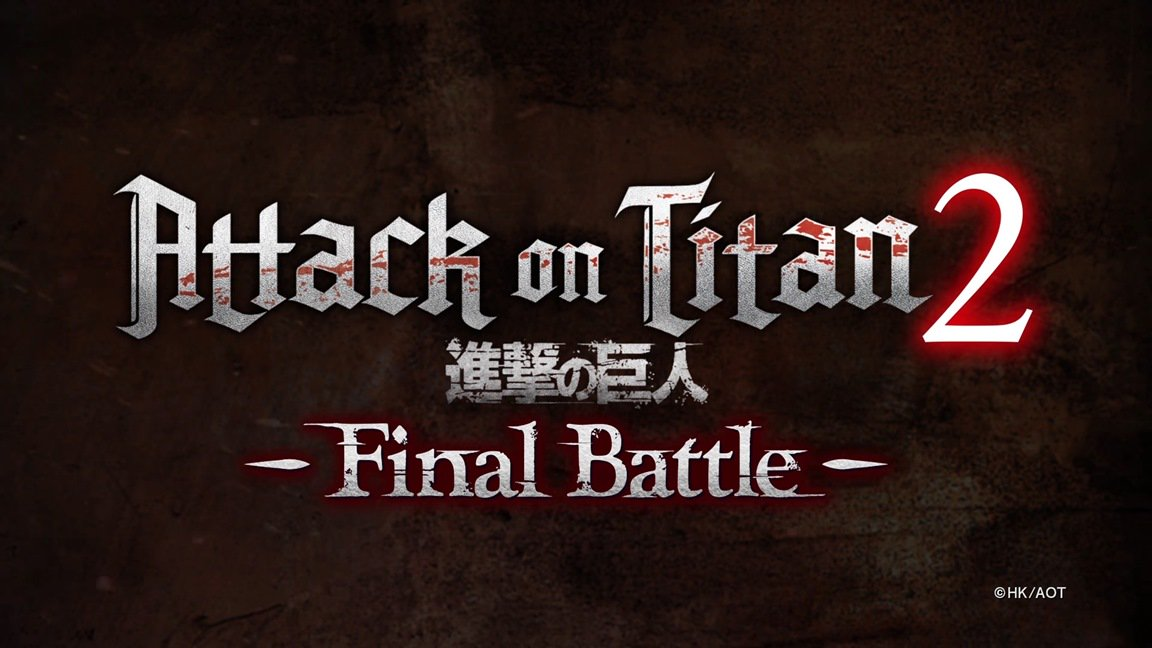 Koei Tecmo anuncia Attack on Titan 2: Final Battle para o Nintendo Switch; trailer