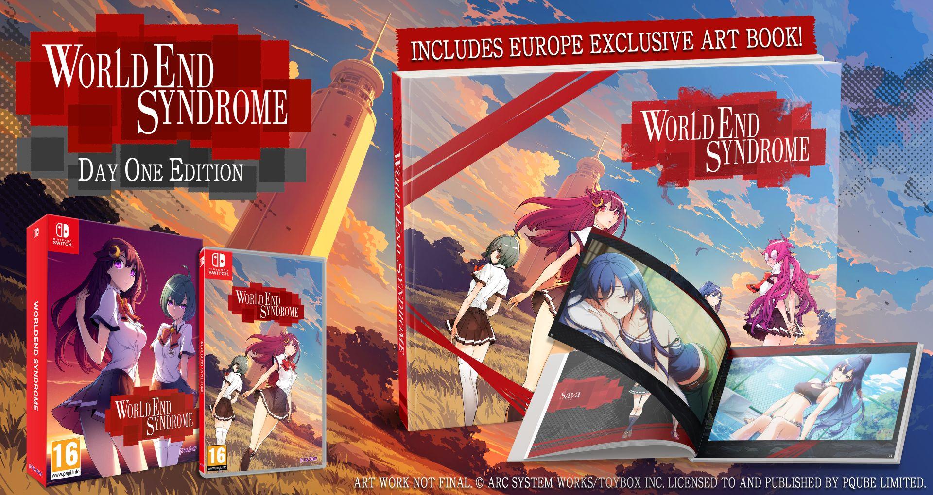[Switch] Visual Novel WorldEnd Syndrome chega em junho na Europa