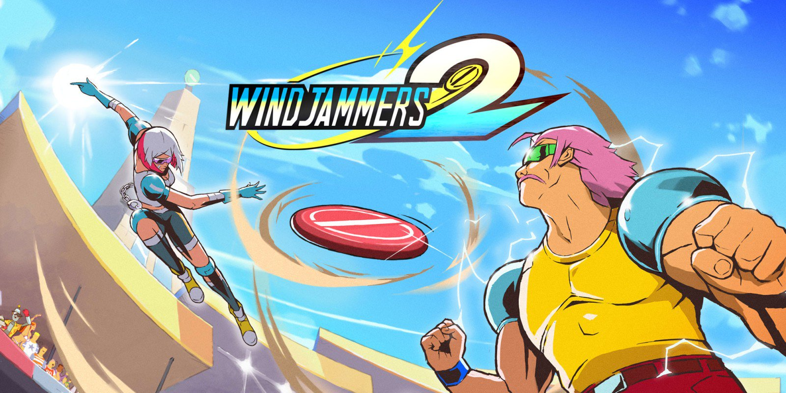 [Switch] Windjammers 2 ganha novo trailer mostrando a gameplay do jogo