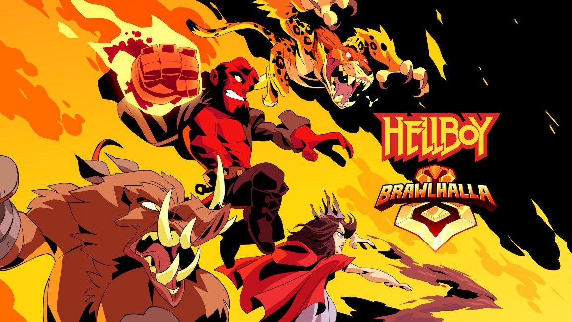 [Switch] Personagens de Hellboy chegam em Brawlhalla no próximo mês