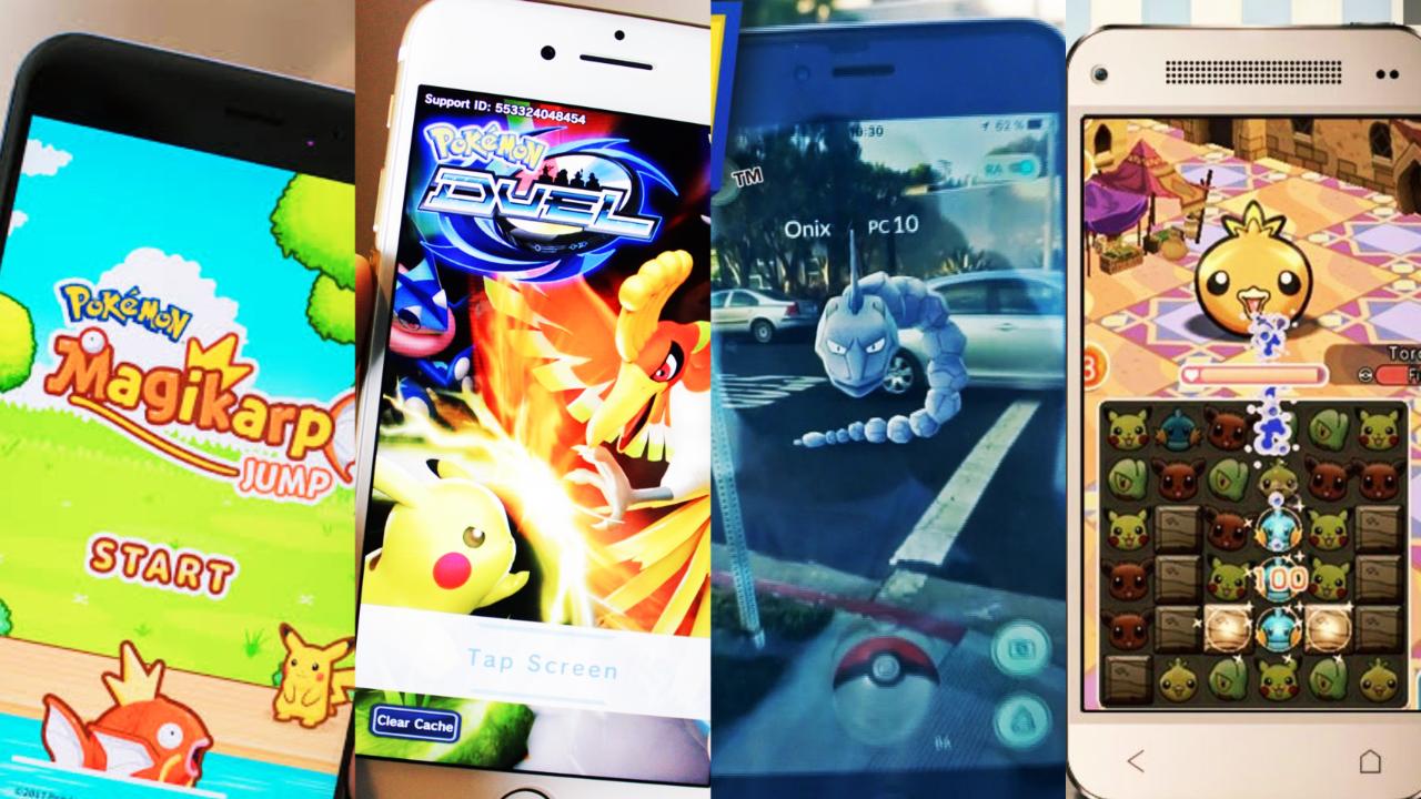 Jogos de Pokémon para smartphones ultrapassam 2.5 bilhões de dólares em receita no mundo inteiro