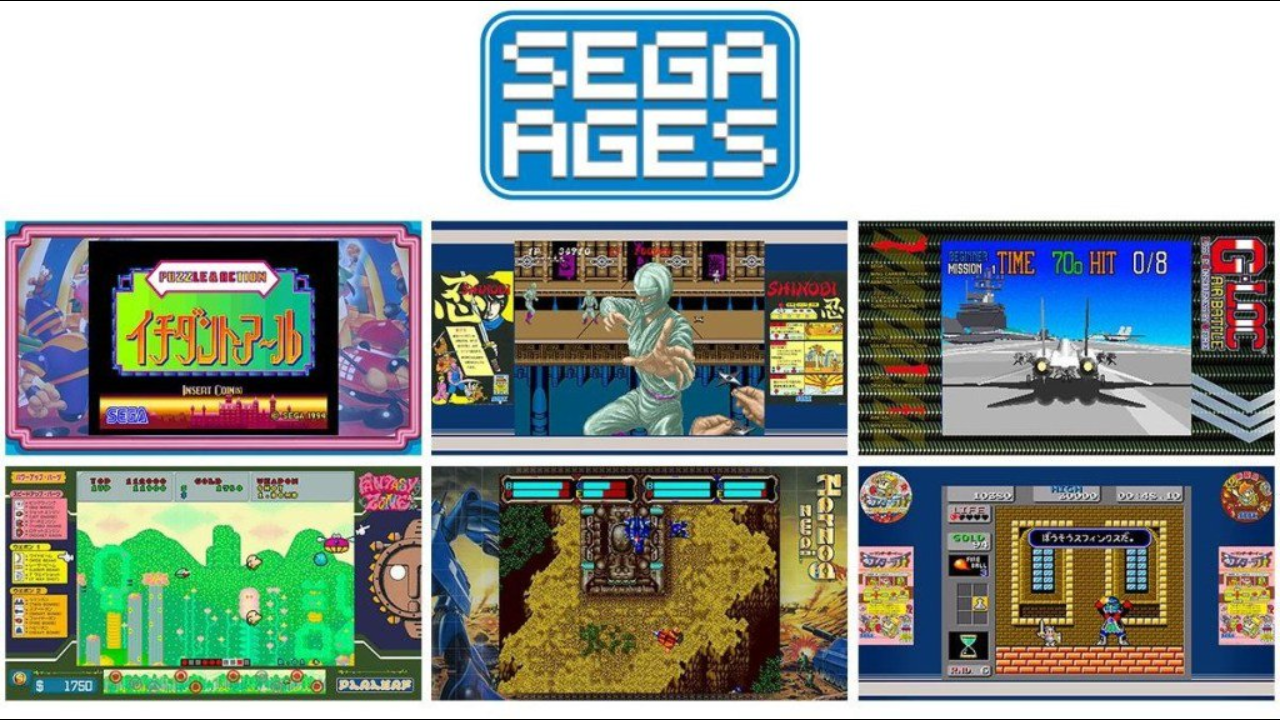 SEGA anuncia seis novos jogos da linha SAGA AGES para o Nintendo Switch