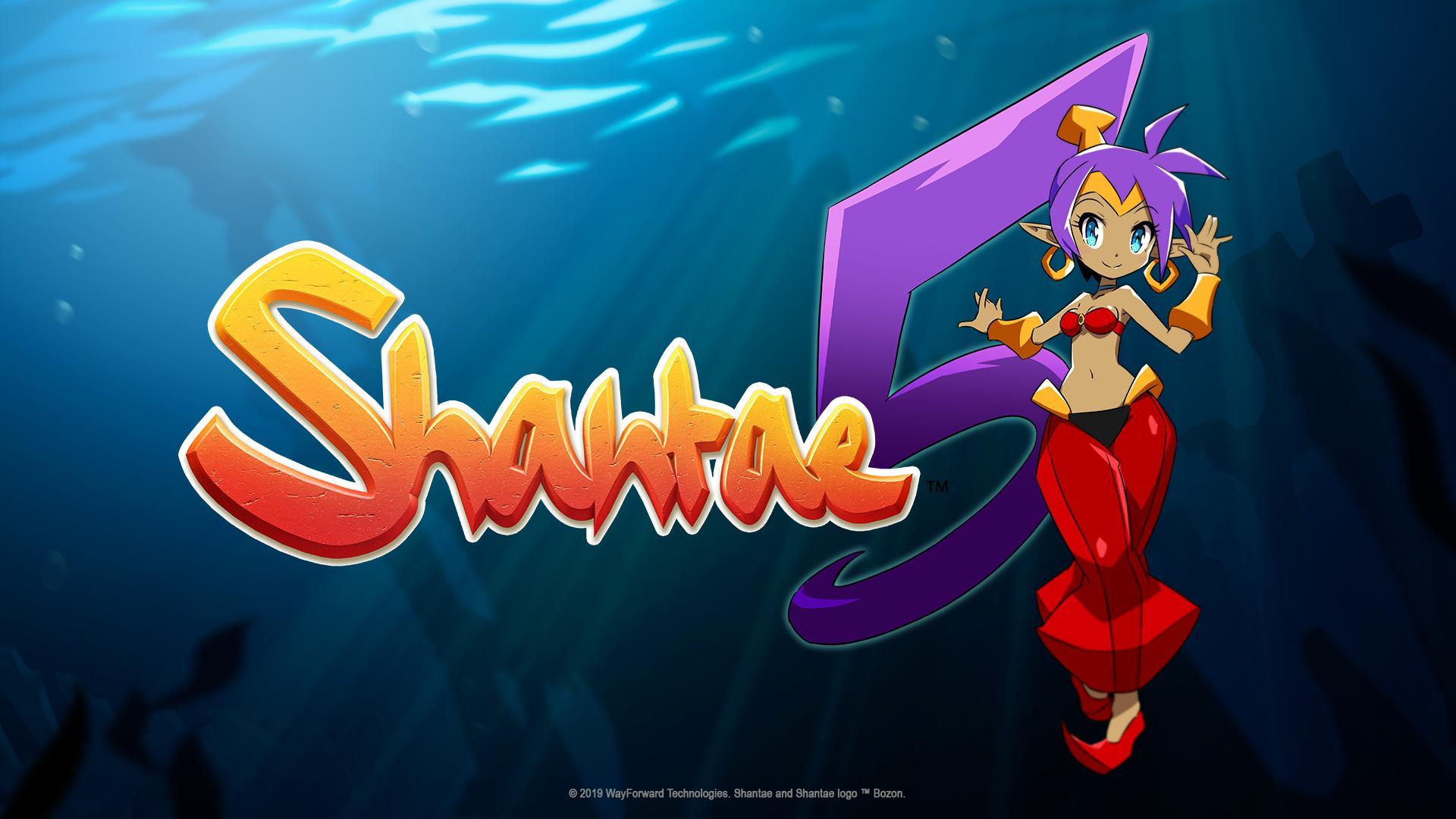 WayFarward anuncia Shantae 5 para o Nintendo Switch