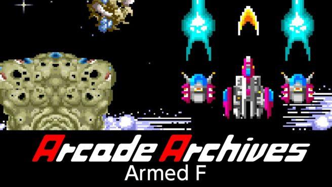 [Switch] Hamster lançará Arcade Archives Armed F nesta semana