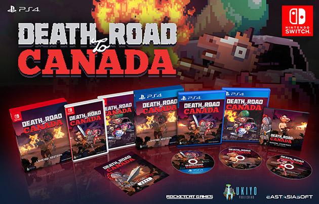 Death Road to Canada para o Nintendo Switch está ganhando edição física pela eastasiasoft