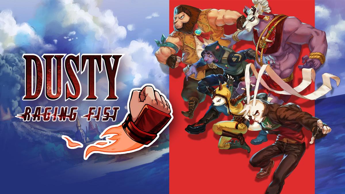 Jogo de ação em 2D Dusty Raging Fist chega está semana na eShop do Nintendo Switch